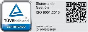 Ibeslab esta certificado en iso9001:2015